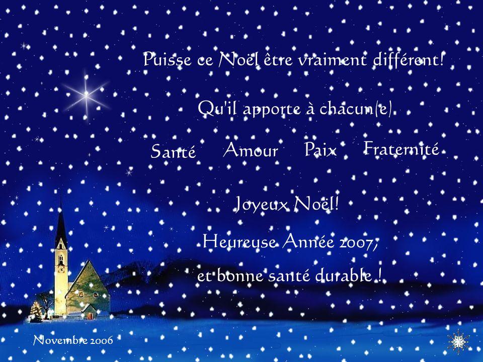 À Noël dernier nous pensions à la folie qui précède la fête de Noël. Cette année, pensons à la signification réelle de cette fête de Noël.