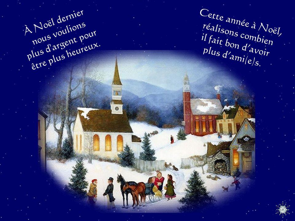 À Noël dernier nous pensions que tous les anges venaient du ciel. Cette année à Noël nous savons quil y en a aussi sur la terre.
