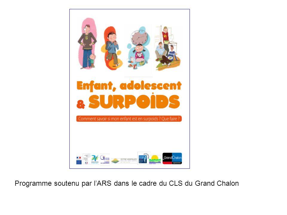 Programme soutenu par lARS dans le cadre du CLS du Grand Chalon