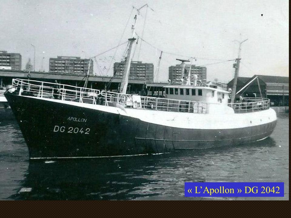 Calendrier des marins dans les années 50 et 60 En janvier et février, les grands bateaux (de 30 à 40 mètres) se consacraient à la « pêche fraîche » en