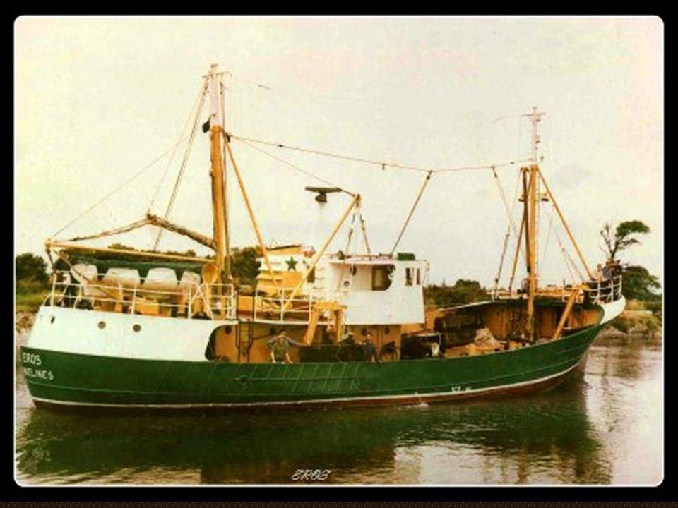 L' Eros DG2008, chalutier de pêche semi-industrielle