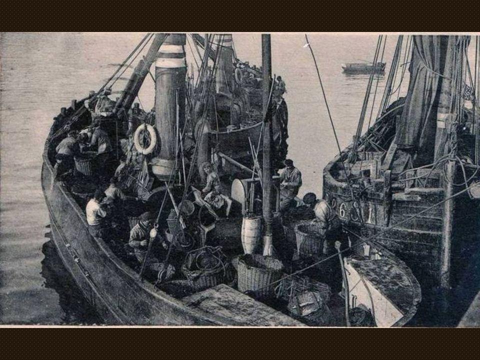 Quelques photos danciens chalutiers de Grand Fort Philippe mais aussi les grands chalutiers « classiques » Boulonnais sur lesquels nos marins Philippo