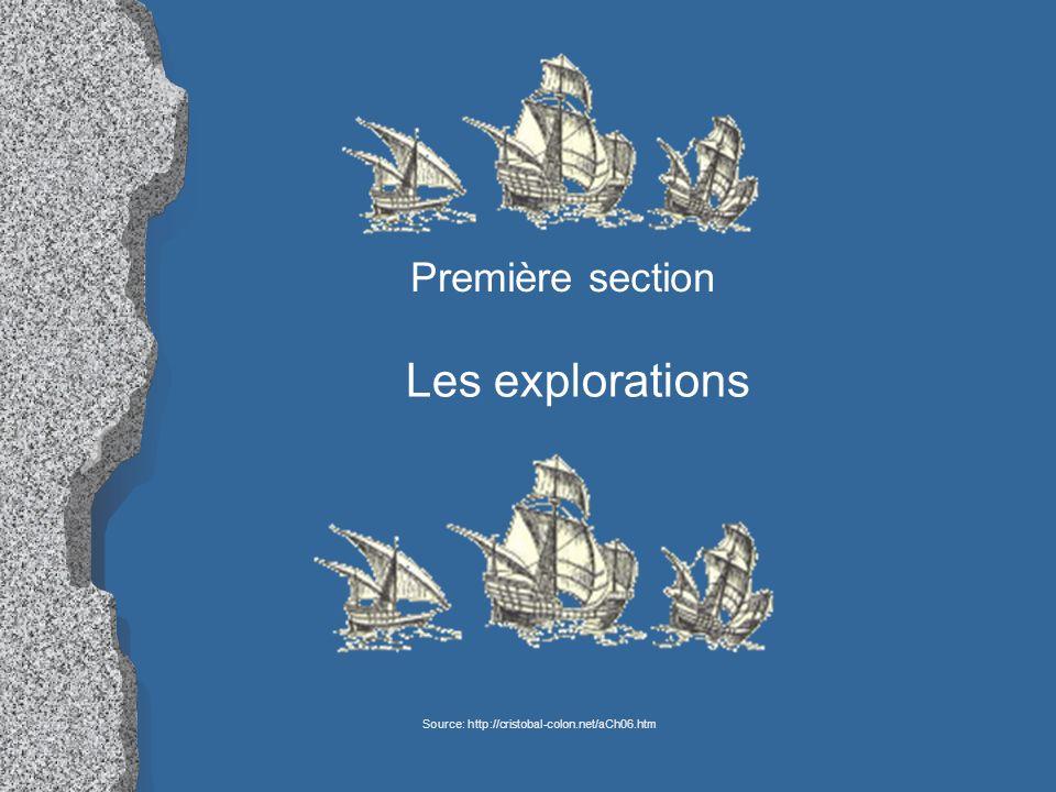 Nommez un objectif des explorations de la France.