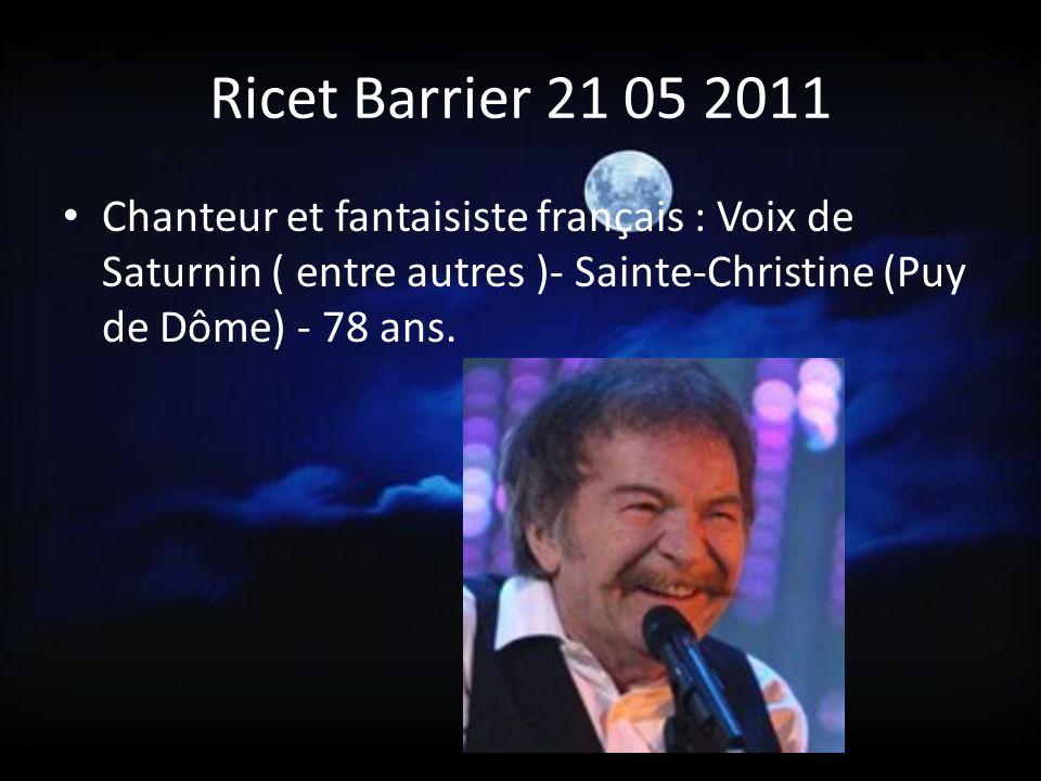Marie France Pisier 24 04 2011 Marie-France Pisier a perdu la vie chez elle à Saint-Cyr-sur-Mer, dans le Var.