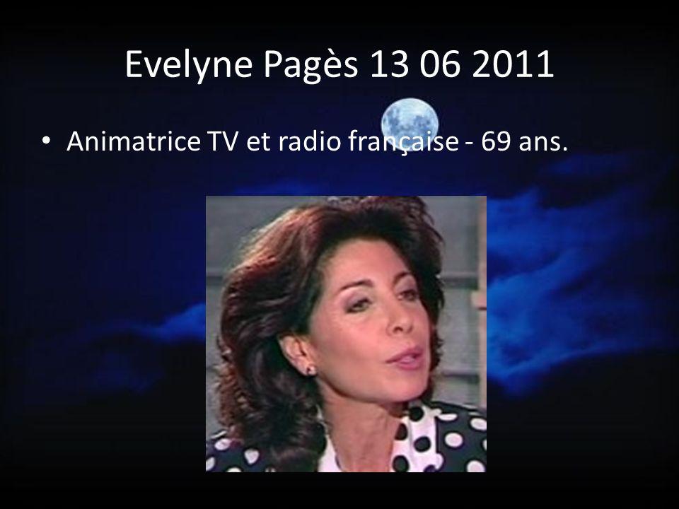 Franck Fernandel 08 06 2011 Chanteur et acteur français Fils de Fernandel 75 ans