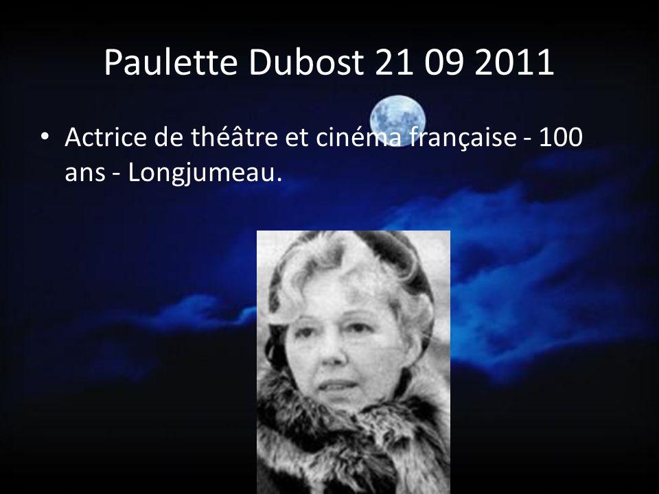Cora Vaucaire 17 09 2011 Chanteuse française, grande interprète de Prévert ou Aragon, surnommée la dame blanche de Saint-Germain-des-Prés - Paris - 93 ans.
