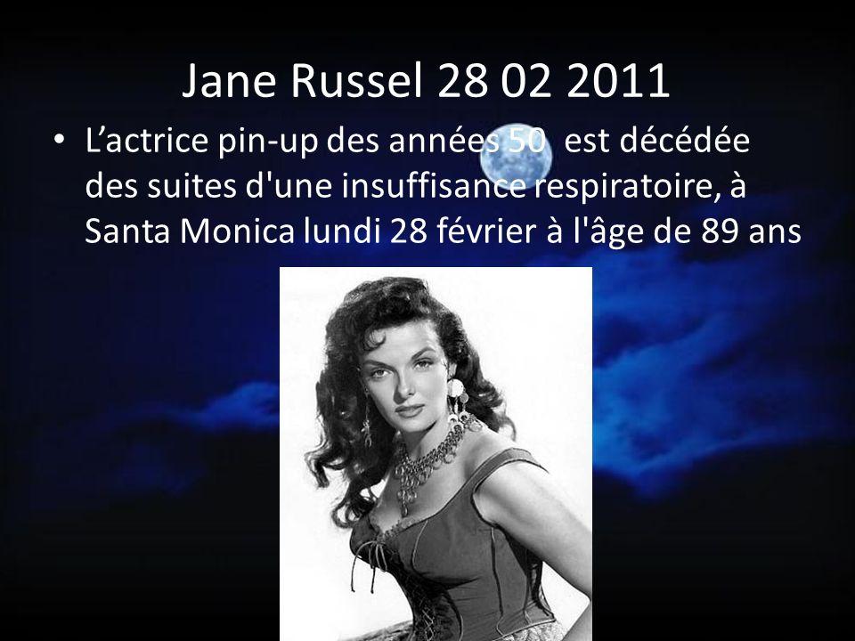 Annie Girardot 28 02 2011 Actrice de légende, brillante, insolente, inspirée.