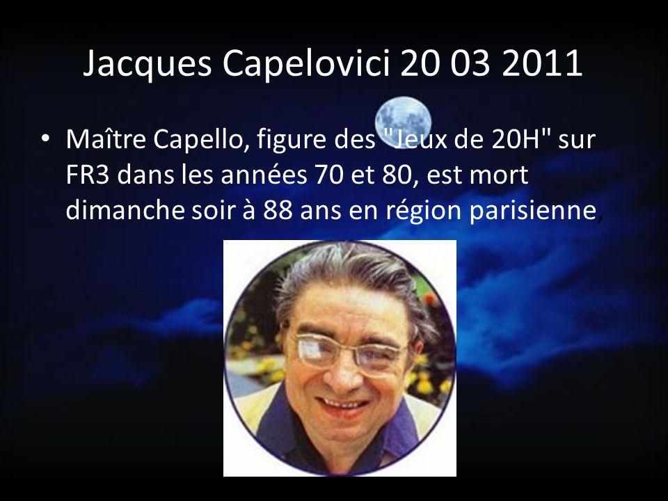 Michel Fortin 18 03 2011 C est à 63 ans que cet acteur s est éteint.