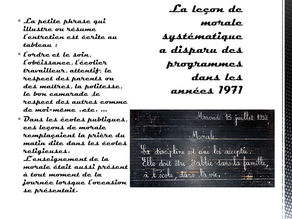 Systématiquement la journée. Dans sa lettre aux enseignants, en 1885, Jules Ferry leur recommandait la plus grande prudence dans leurs propos. Le plus