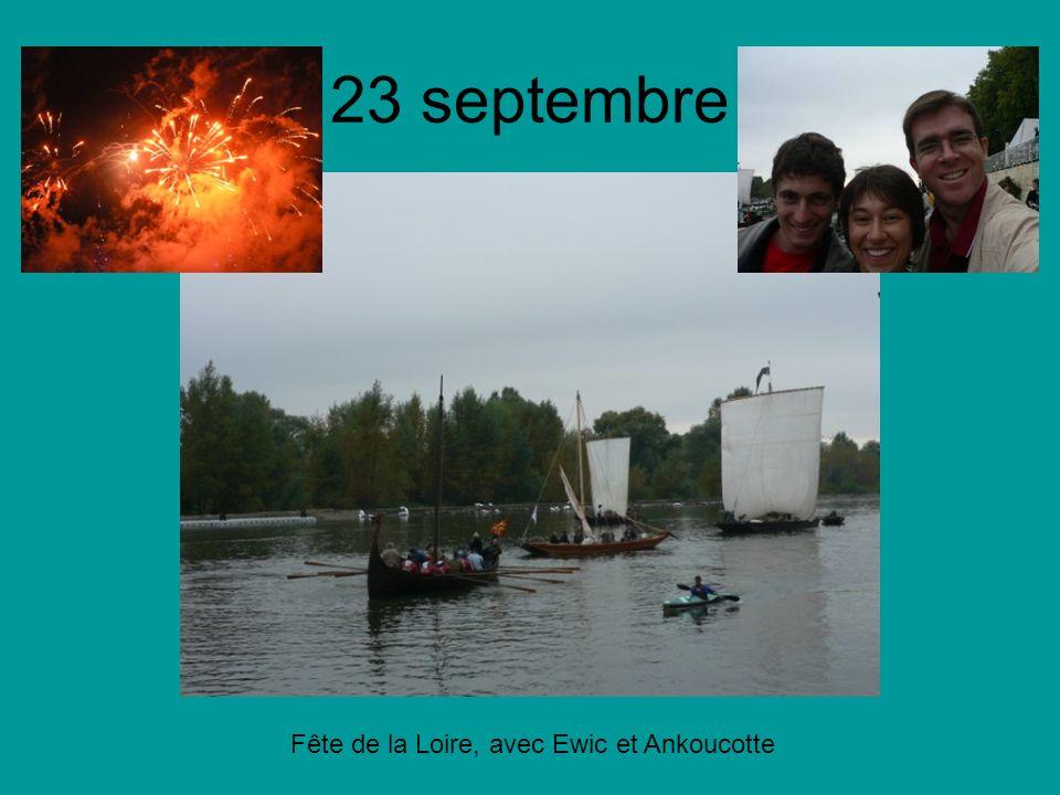 23 septembre Fête de la Loire, avec Ewic et Ankoucotte