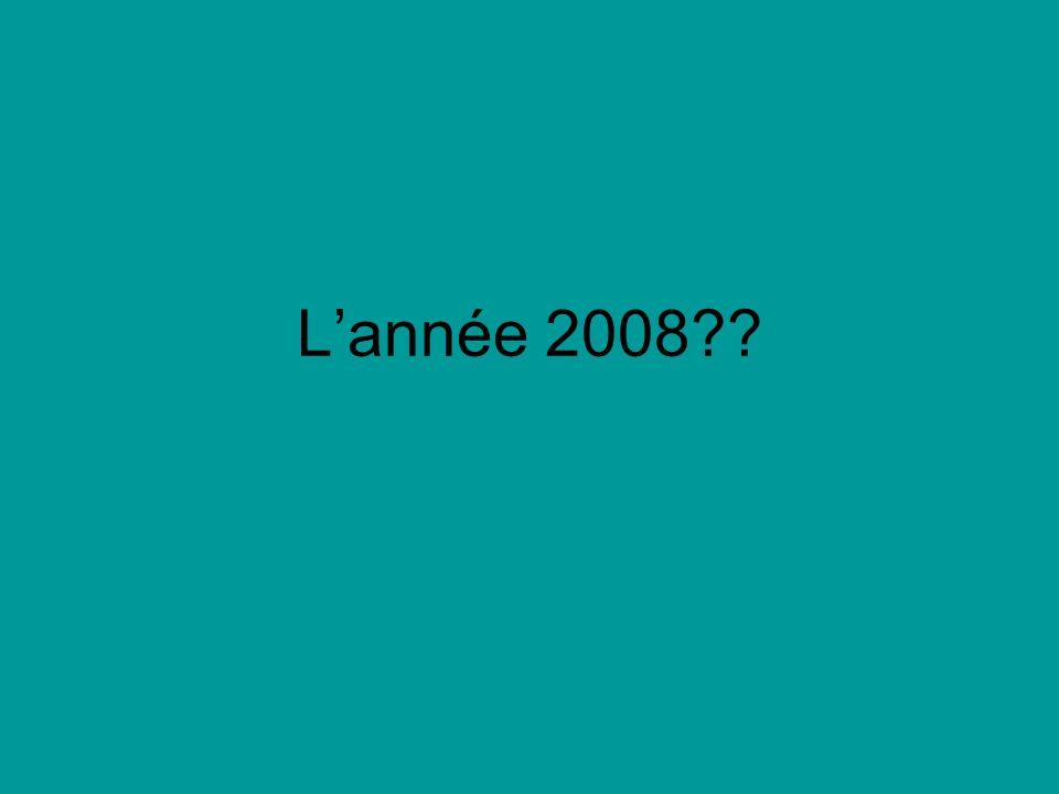 Lannée 2008
