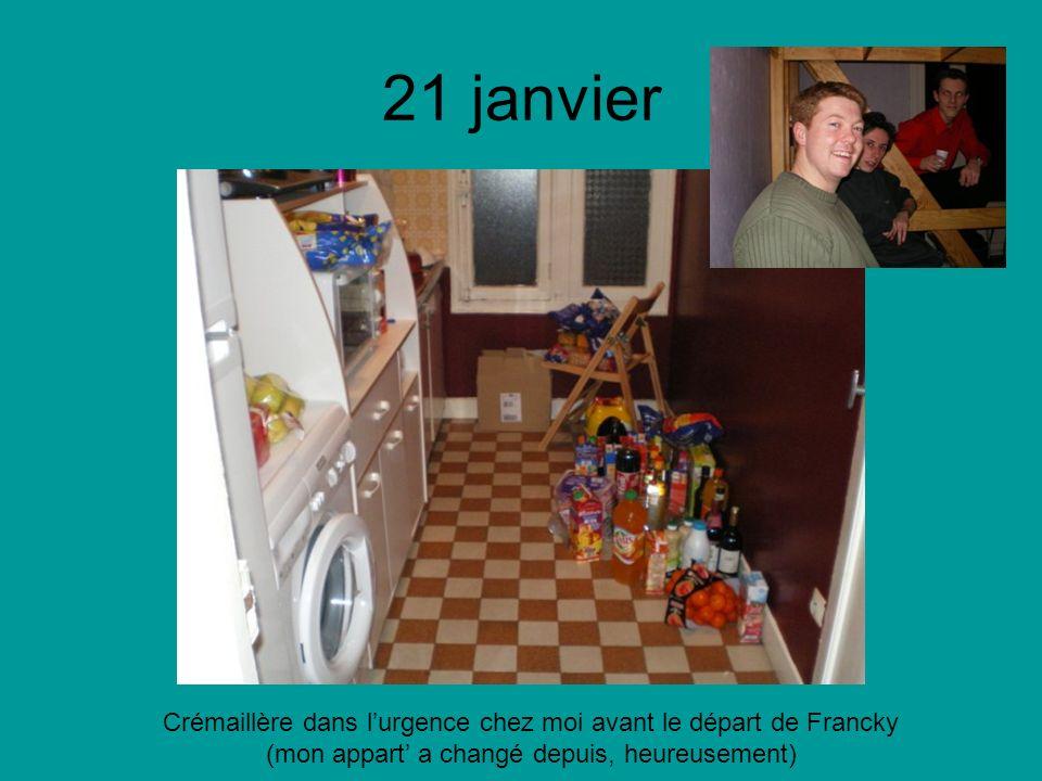 28 janvier Match Stade Français – Stade Toulousain au Stade de France avec mon frangin et Jule (du nimporte quoi pour changer )
