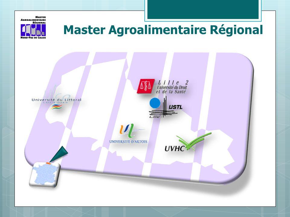 Master Agroalimentaire Régional