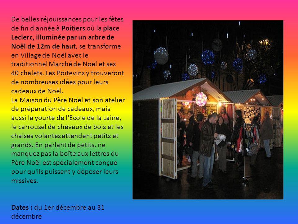 La ville de Montpellier organise en décembre un marché de Noël du Sud. La place de la Comédie accueille cette année Plus de 100 artisans et commerçant