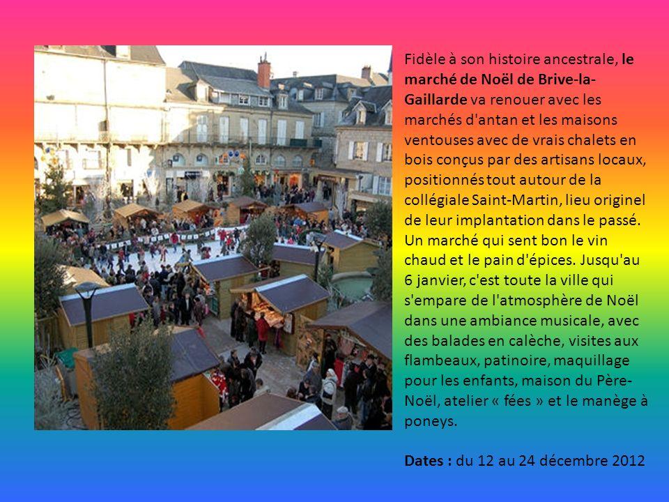 De belles réjouissances pour les fêtes de fin d'année à Poitiers où la place Leclerc, illuminée par un arbre de Noël de 12m de haut, se transforme en