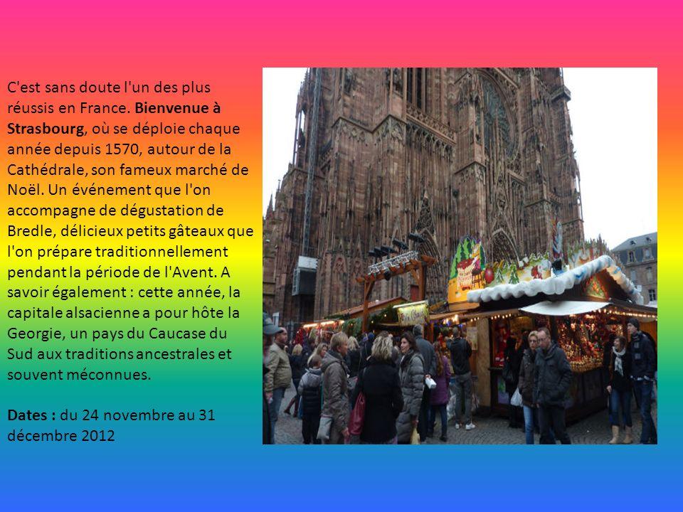 En plein cœur de l'hiver, Lille étincelle et rayonne de joie de vivre. Son marché de Noël est chaque année le premier à ouvrir en France. C'est égalem