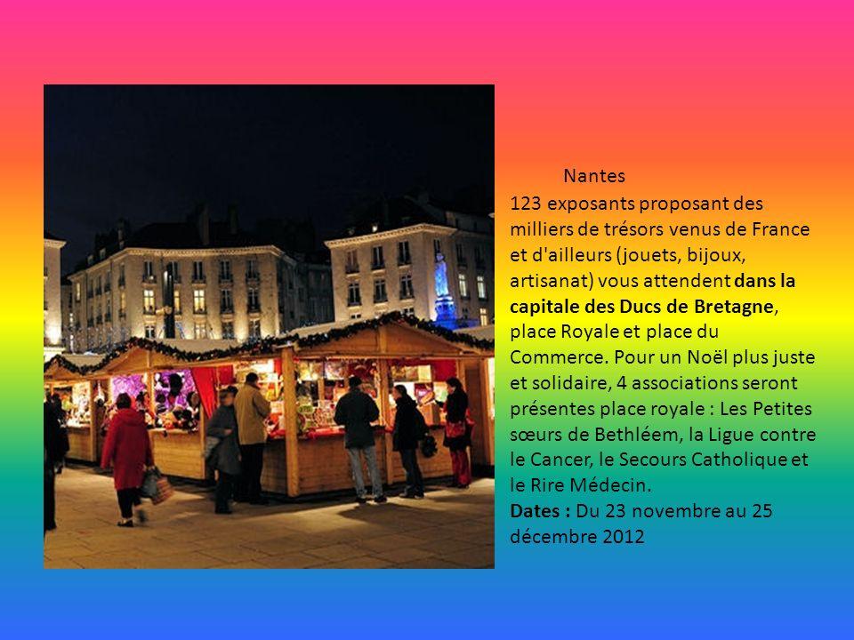 La ville de Montpellier organise en décembre un marché de Noël du Sud.