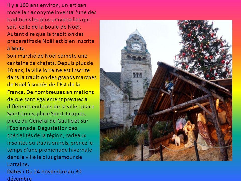A Aix-en-Provence, le cours Mirabeau accueillera encore cette année une quarantaine de chalets d artisans et de commerçants.