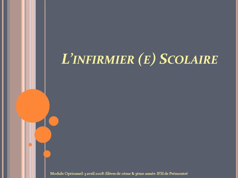 LI NFIRMIER ( E ) S COLAIRE 1.
