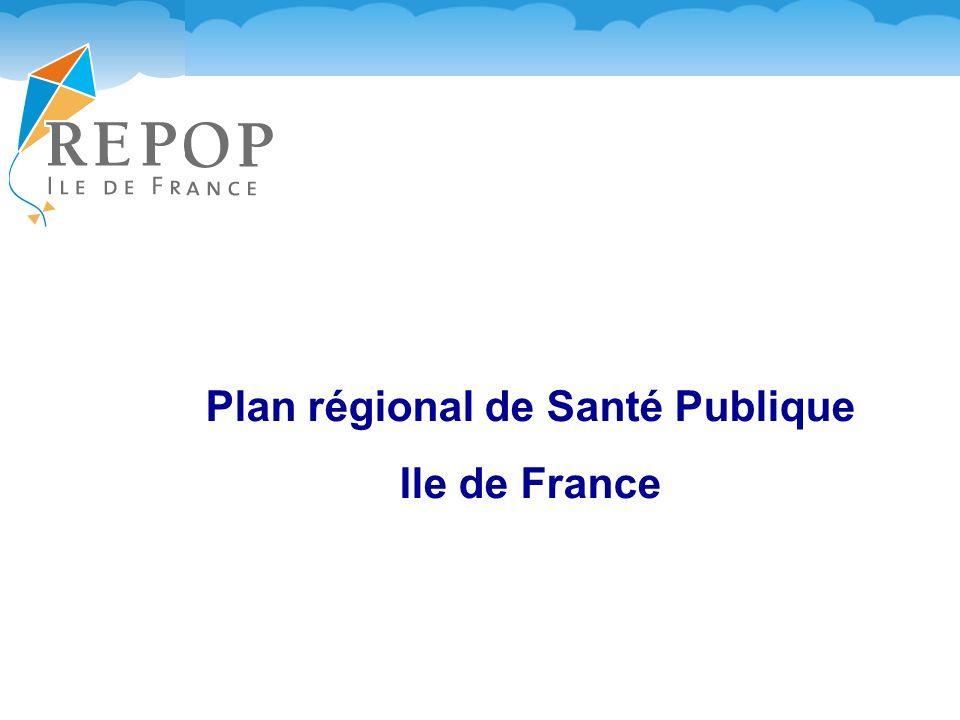 Plan régional de Santé Publique Ile de France