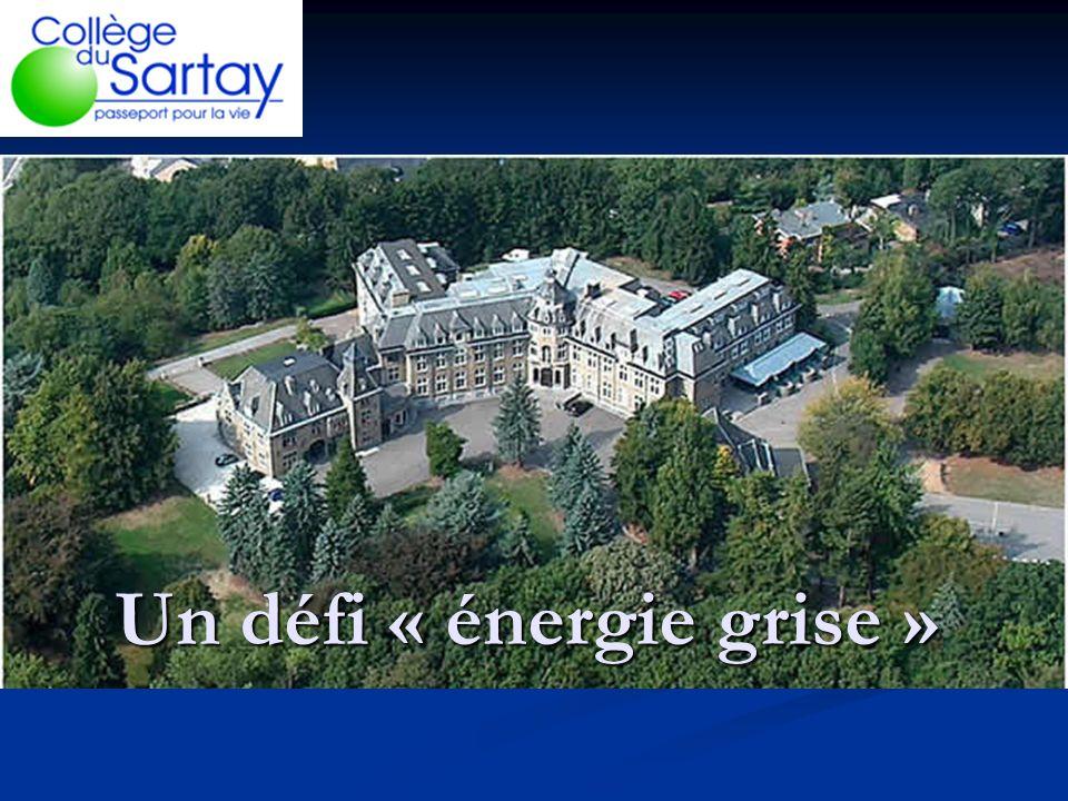 Un défi « énergie grise »