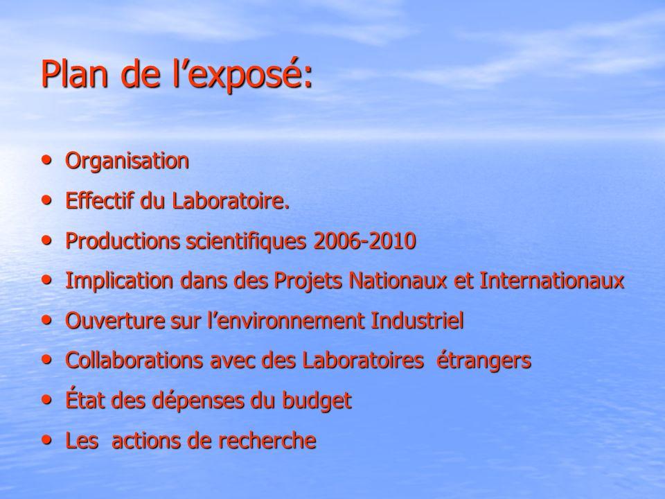 Organisation du LCI
