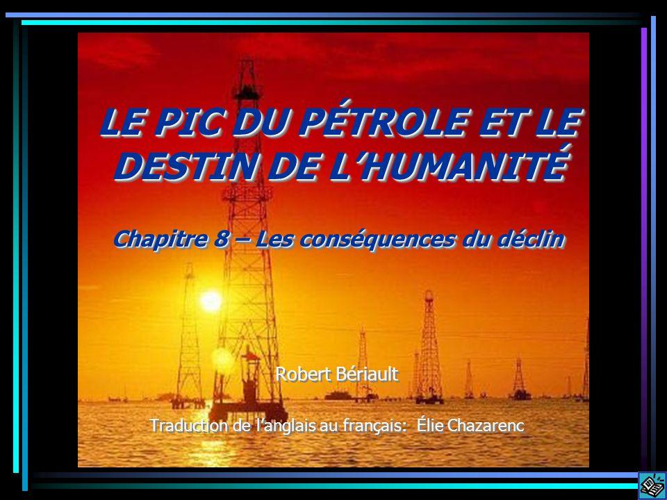 Une fois que le prix du pétrole aura atteint un certain niveau, la demande commencera à s abaisser.