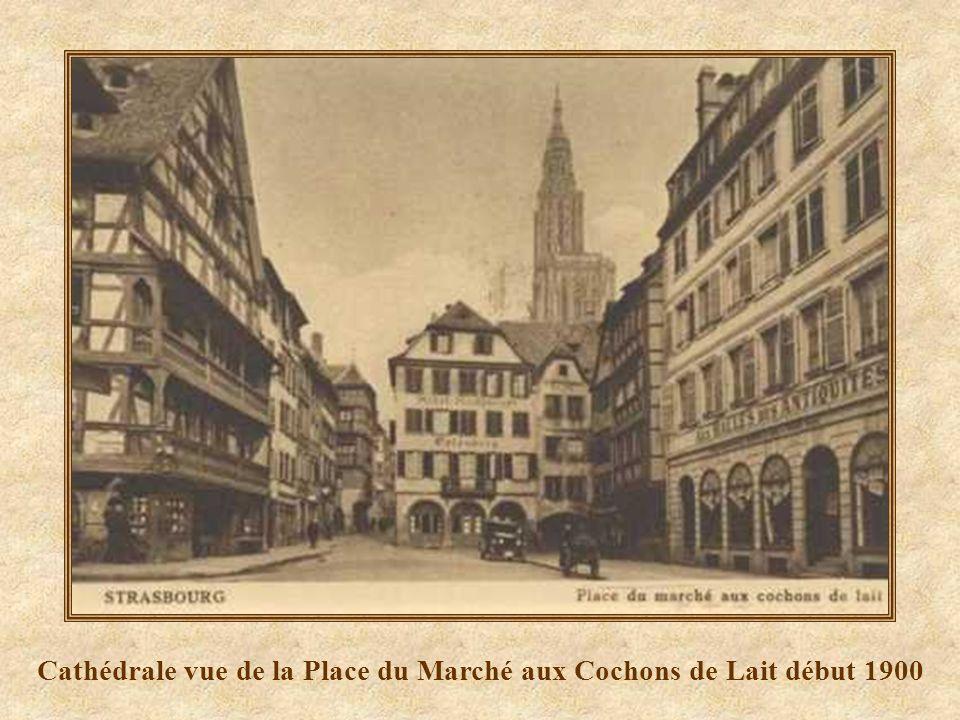 Cathédrale vue de la rue dOr 2008