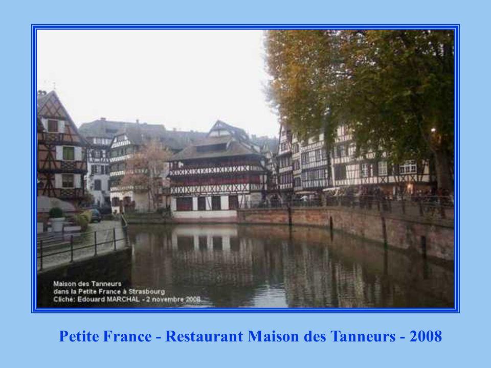 Petite France - Maison des Tanneurs - avant dêtre Restaurant 1880