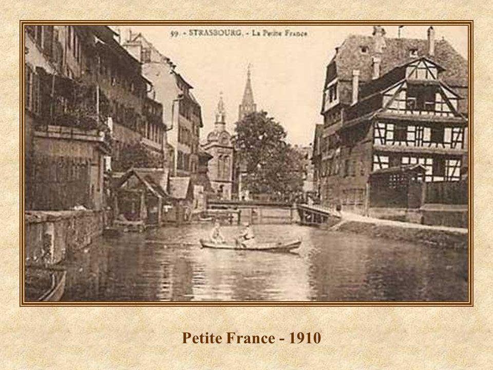 Petite France - Restaurant Maison des Tanneurs - 2008