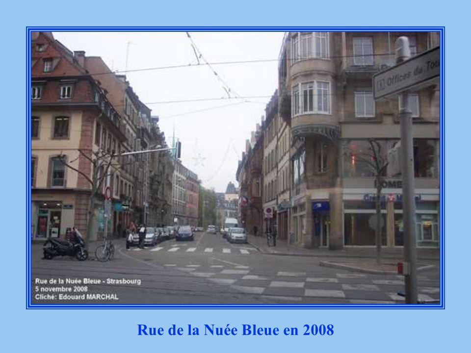 Rue de la Nuée Bleue début des années 1930