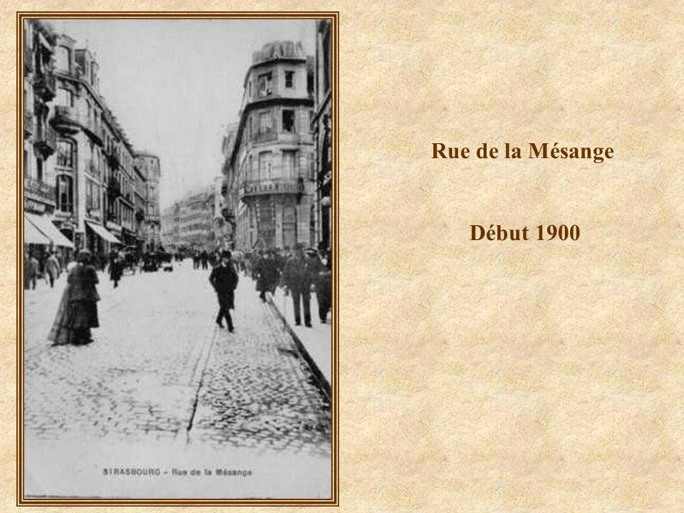 Rue de la Mésange – La 2 ème DB - 23 novembre 1944