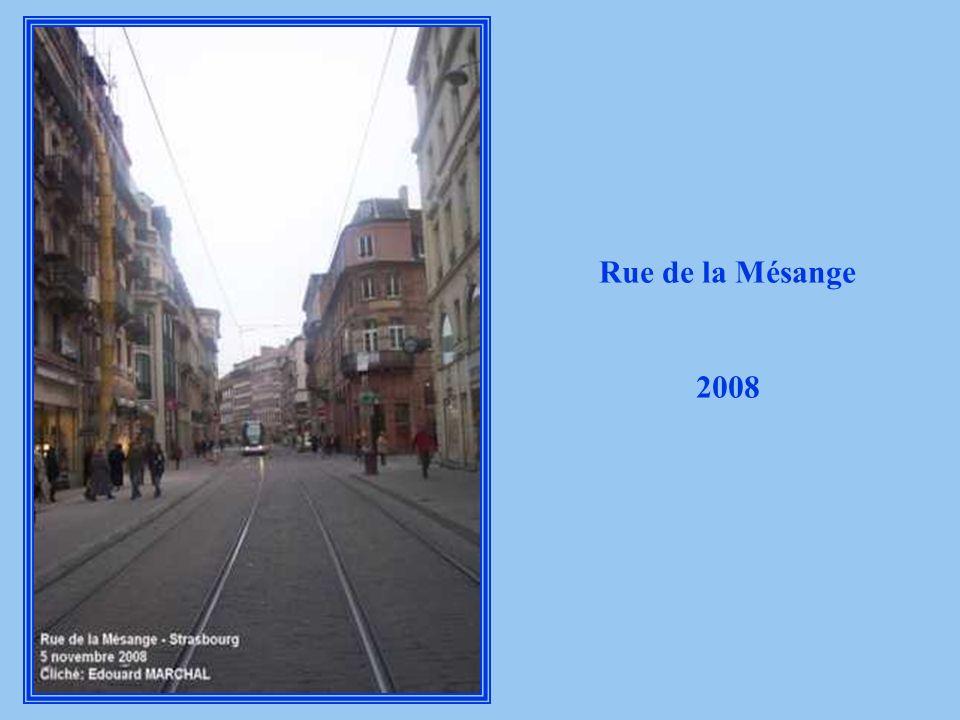 Rue de la Mésange Début 1900