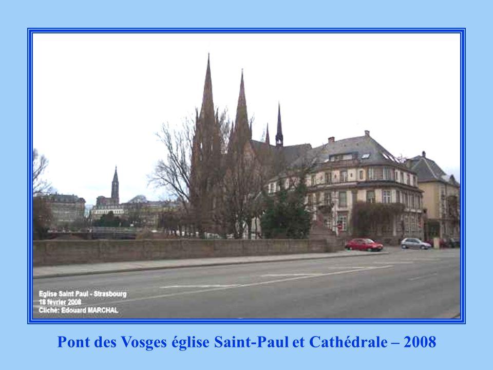 Pont des Vosges église Saint-Paul et Cathédrale – Début 1900