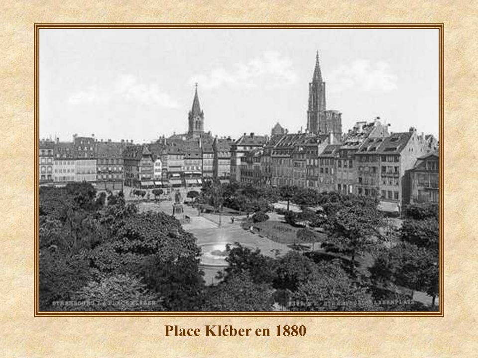Kléber Origine de la photo : Strasbourg photos