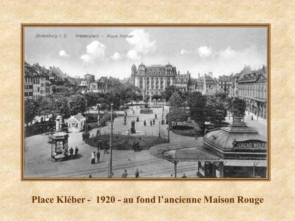 Place Kléber en 1880