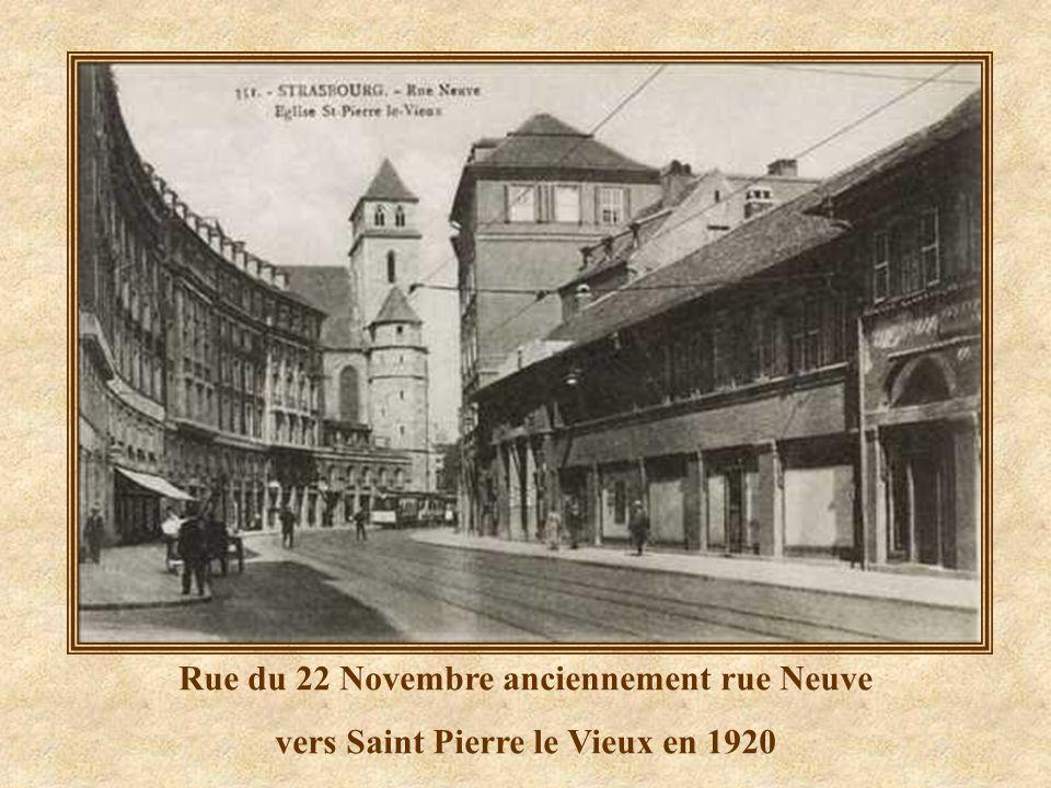 Cathédrale vue de la Place Kléber Années 50/60