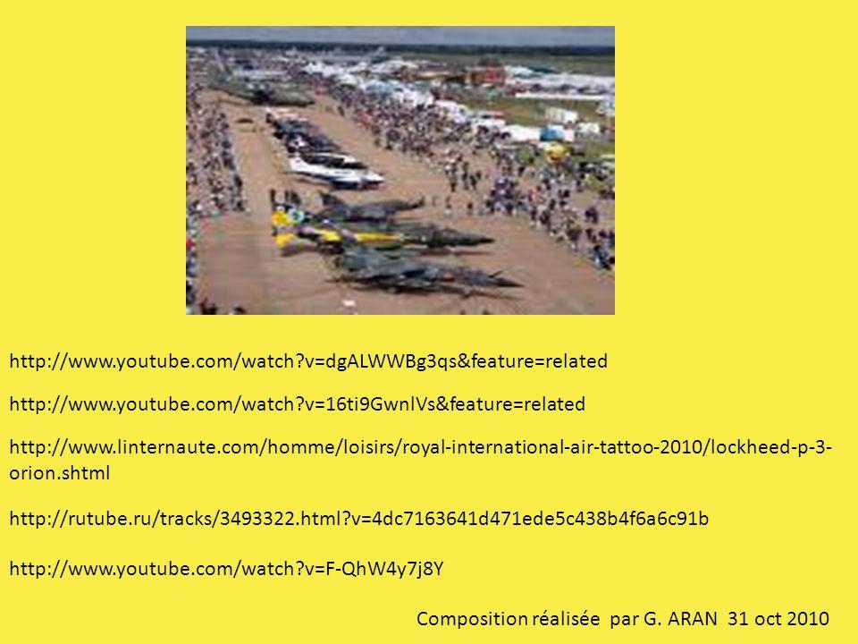 http://www.linternaute.com/homme/loisirs/royal-international-air-tattoo-2010/lockheed-p-3- orion.shtml http://www.youtube.com/watch?v=F-QhW4y7j8Y http