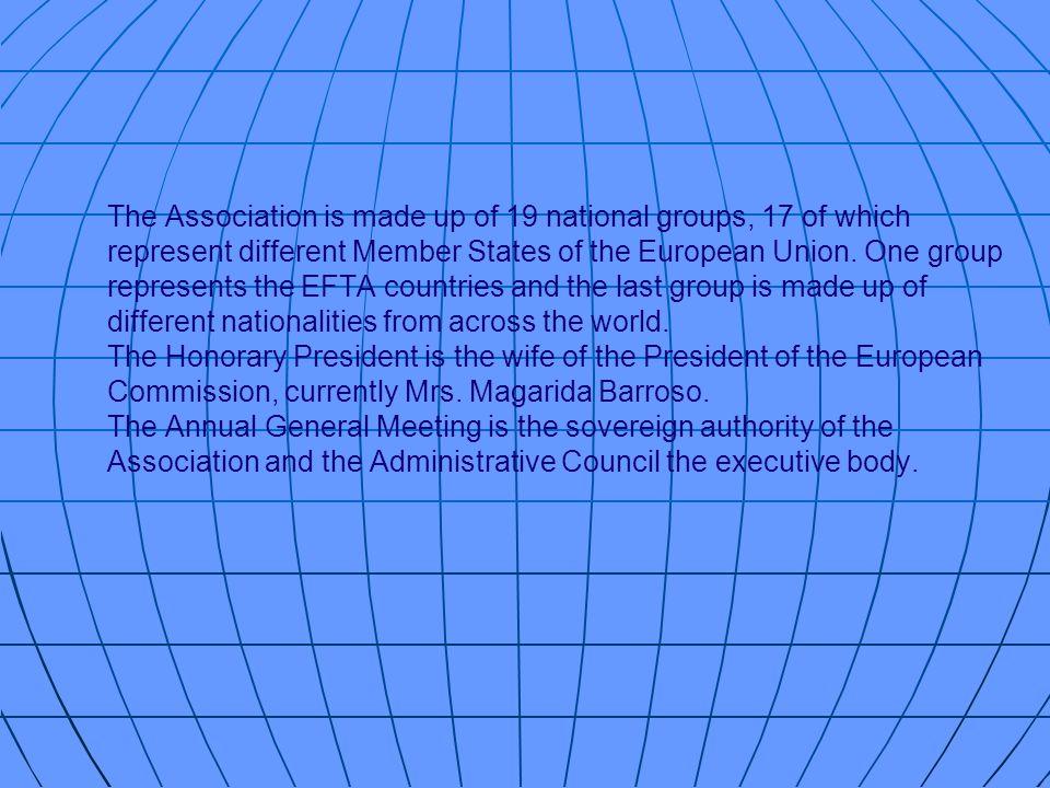 LAssociation Femmes dEurope (a.i.s.b.l.) est apolitique et philanthropique.