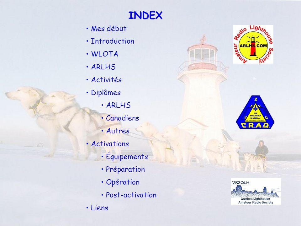 ARLHS Amateur Radio LightHouse Society CQ Lighthouse CQ Lighthouse de KD3CQ/p Poser la question lorsque la station opère sur une île (IOTA, CIsA, USIsl, etc..) http://www.arlhs.com/ Fréquences dopération SSB : 1.970, 3.970, 7.270, 14.270, 21.370, 28.370 CW : 1.830, 3.530, 7.030, 14.030, 21.030, 28.030 Toutes bandes et modes, y compris répétitrice et satellites.