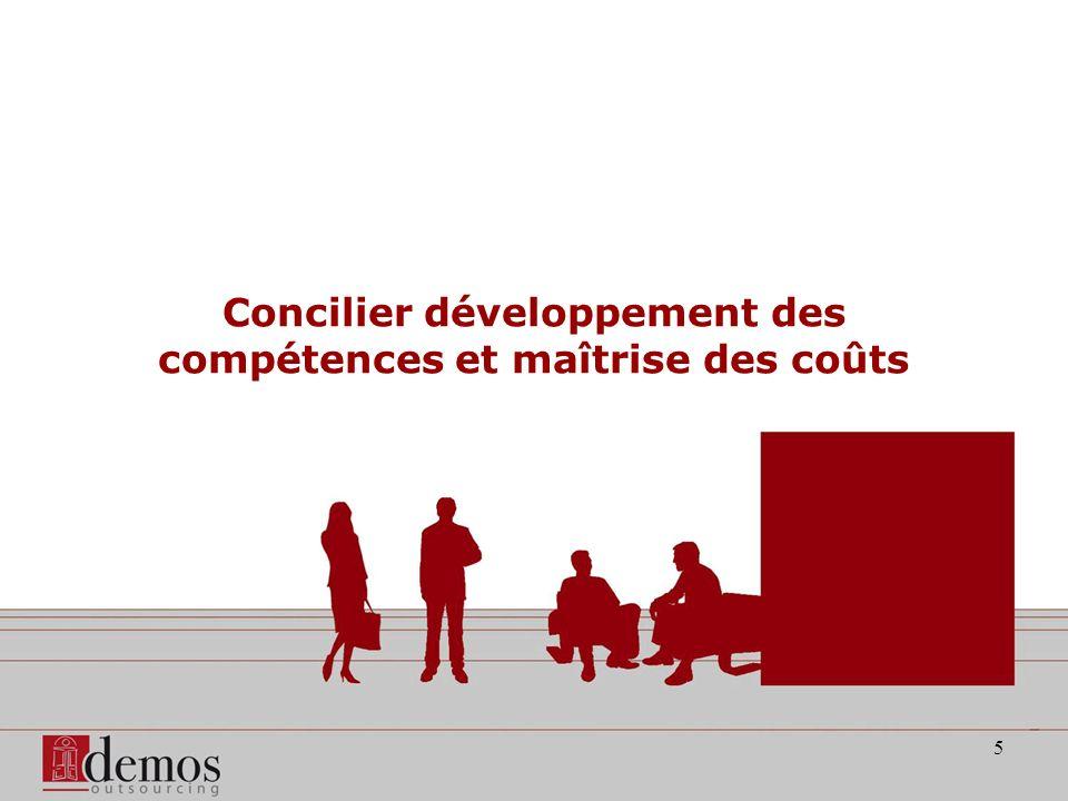 5 Concilier développement des compétences et maîtrise des coûts