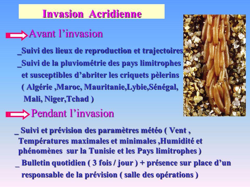 Invasion Acridienne Avant linvasion _Suivi des lieux de reproduction et trajectoires _Suivi des lieux de reproduction et trajectoires _Suivi de la plu