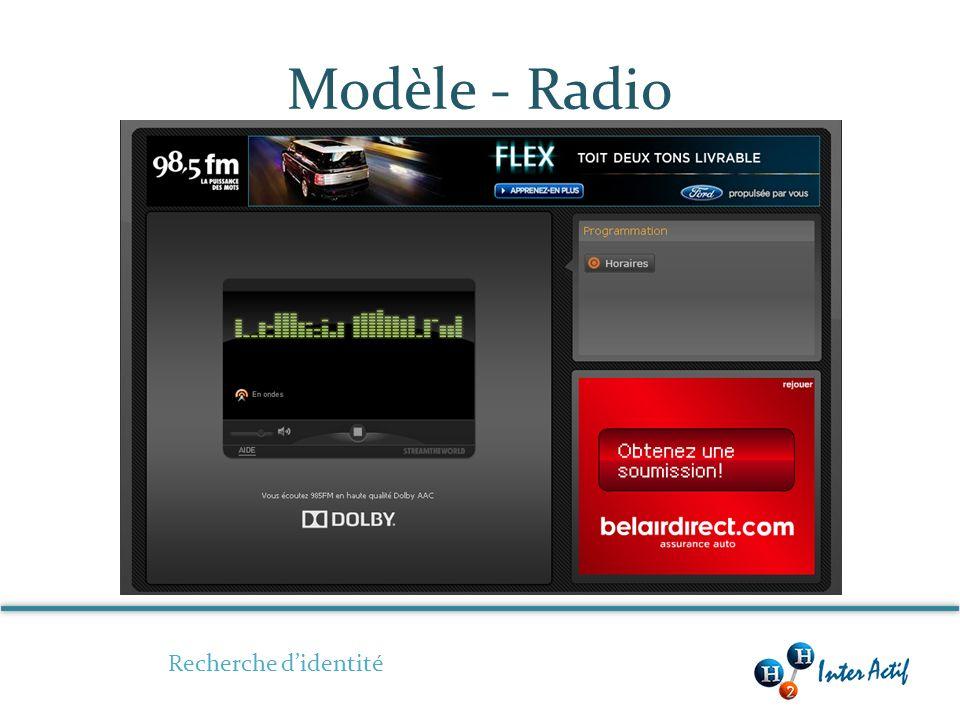 Modèle - Radio Recherche didentité