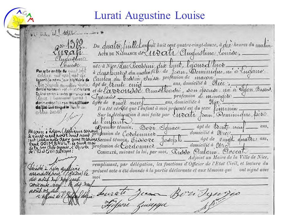 AGAM 33 Lurati Augustine Louise
