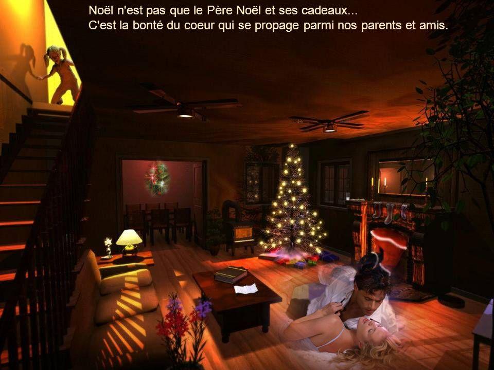 Celui qui n'a pas Noël dans le coeur ne le trouvera jamais au pied d'un arbre.