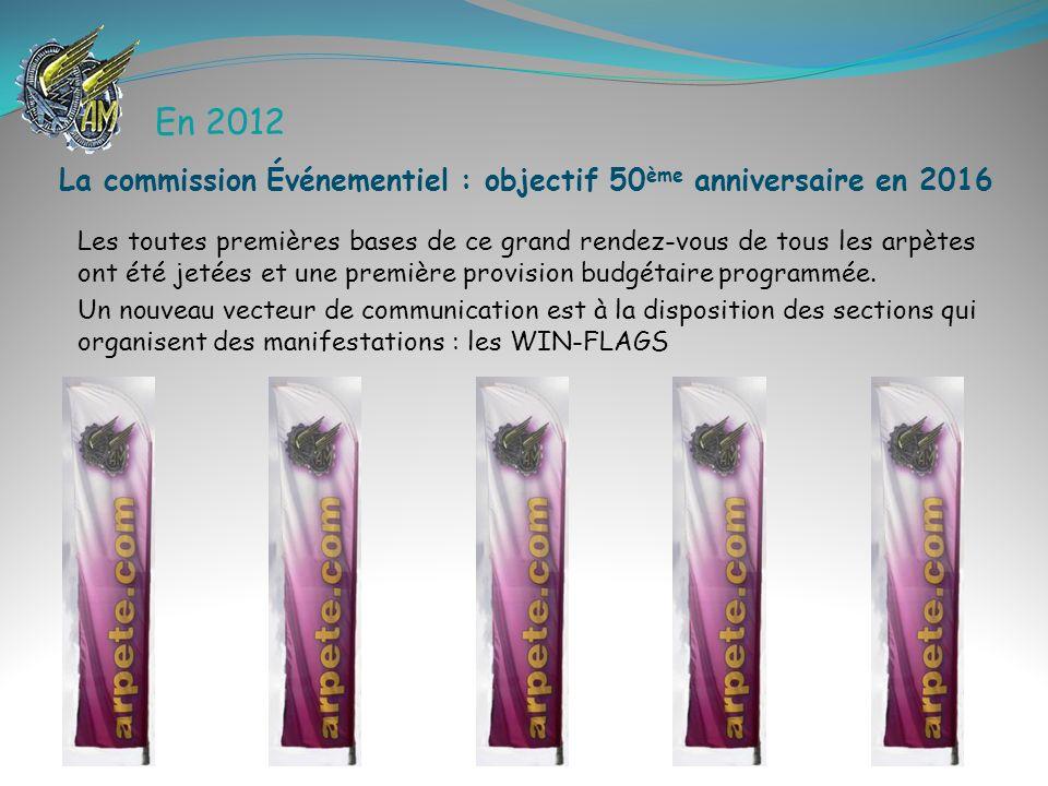 En 2012 Les toutes premières bases de ce grand rendez-vous de tous les arpètes ont été jetées et une première provision budgétaire programmée. Un nouv
