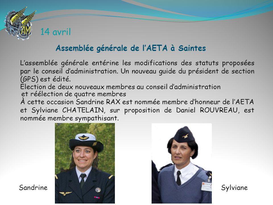 19 décembre Présidé par le CEMAA, le Général dArmée Aérienne Denis MERCIER une cérémonie emprunte dune grande émotion pour la maman et la famille de Michel FOSSES P64.