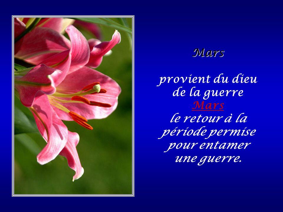 Février du latin populaire febrarius, dérivé du verbe februare « purifier ».