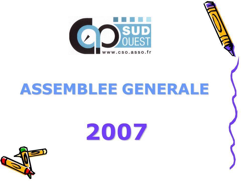 ASSEMBLEE GENERALE 2007