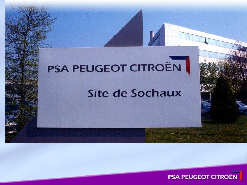 Présentation Du Site De Sochaux Quelques chiffres: - 15300 employés.